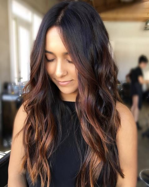 Bold Layers Hair Style