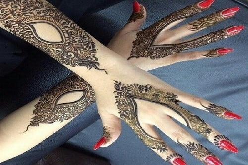 Indo Arabic Mehndi 4