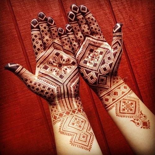 Moroccan Mehandi Designs 1