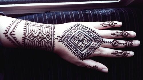 Moroccan Mehandi Designs 3