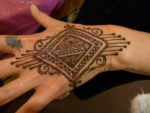 Moroccan Mehandi Designs 5