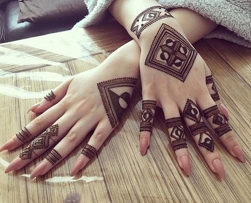 Moroccan Mehandi Designs 6