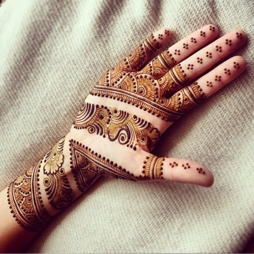 Pakistan Mehandi Design 3