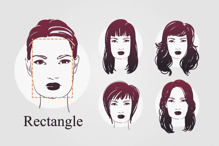 Rectangle Face Shape