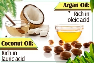 Argan Oil VS Coconut Oil