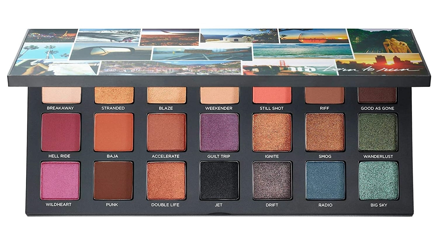 Born To Run Eyeshadow Palettes Authentic