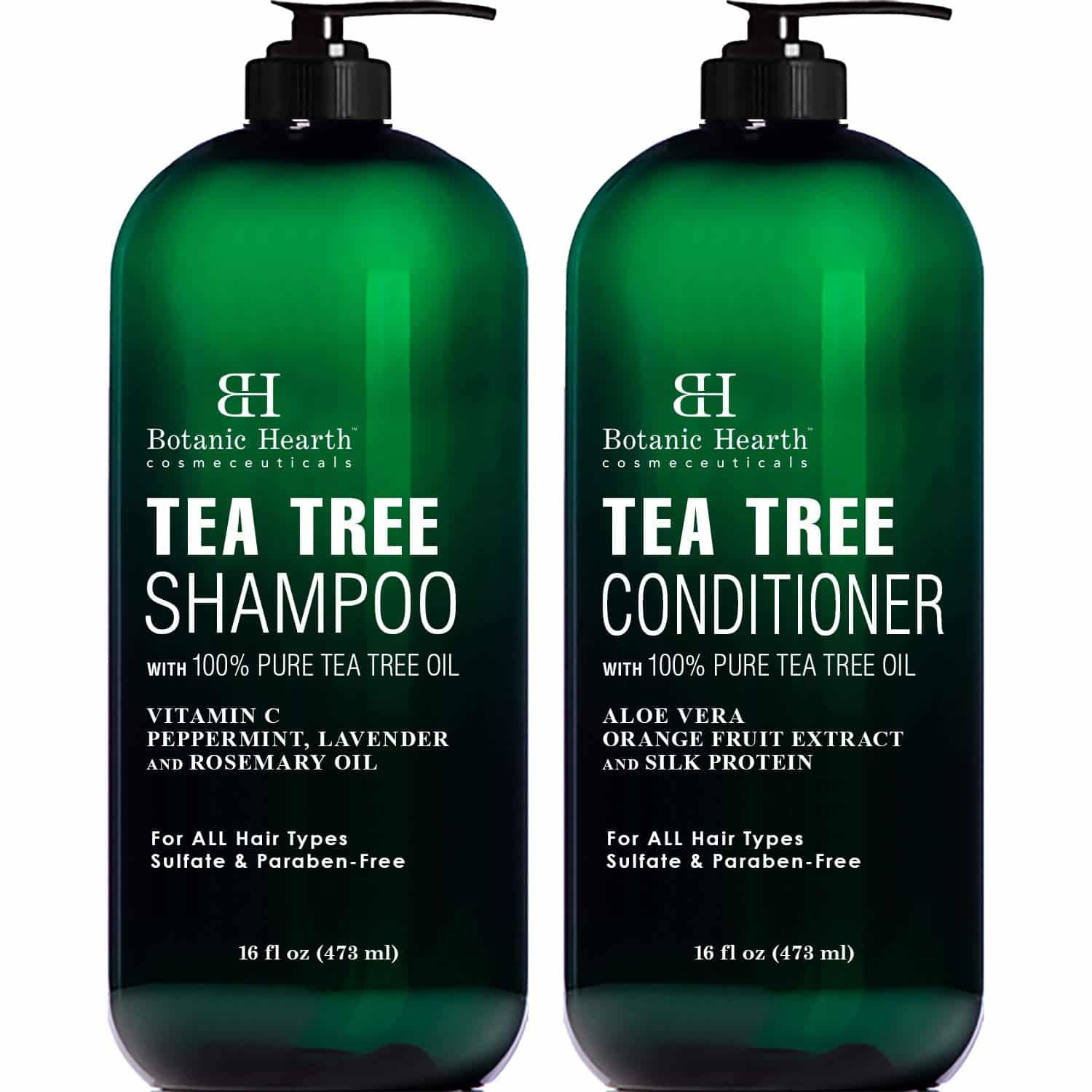 Botanic Hearth Tea Tree Shampoo and Conditioner Set Review