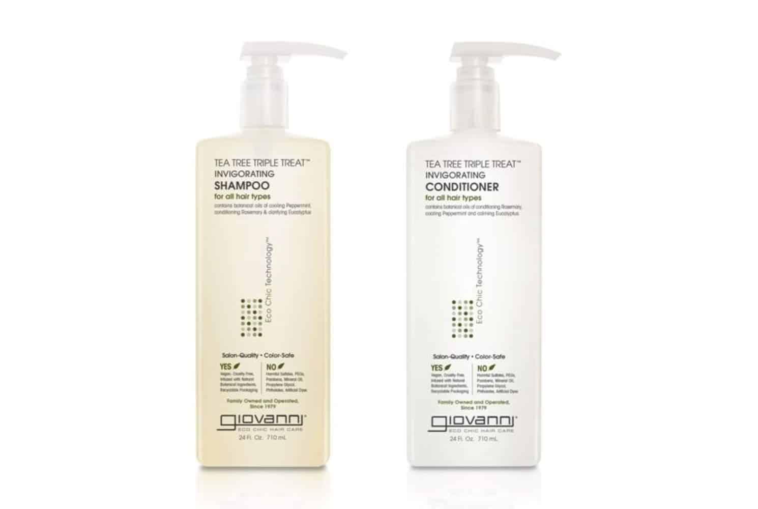 GIOVANNI Tea Tree Triple Treat Invigorating Shampoo & Conditioner Set Review